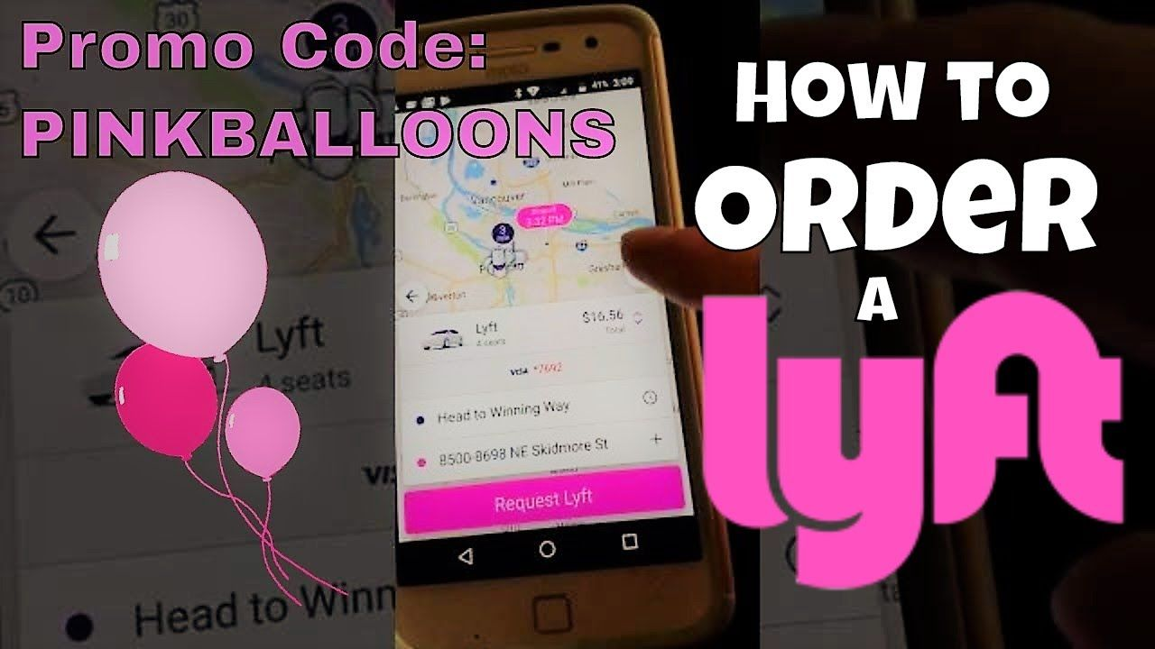 How to Order a Lyft Great Instructions for 1sttime Lyft