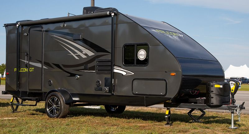 Travel Lite Falcon F 24bh Lite Travel Trailers Travel Trailer