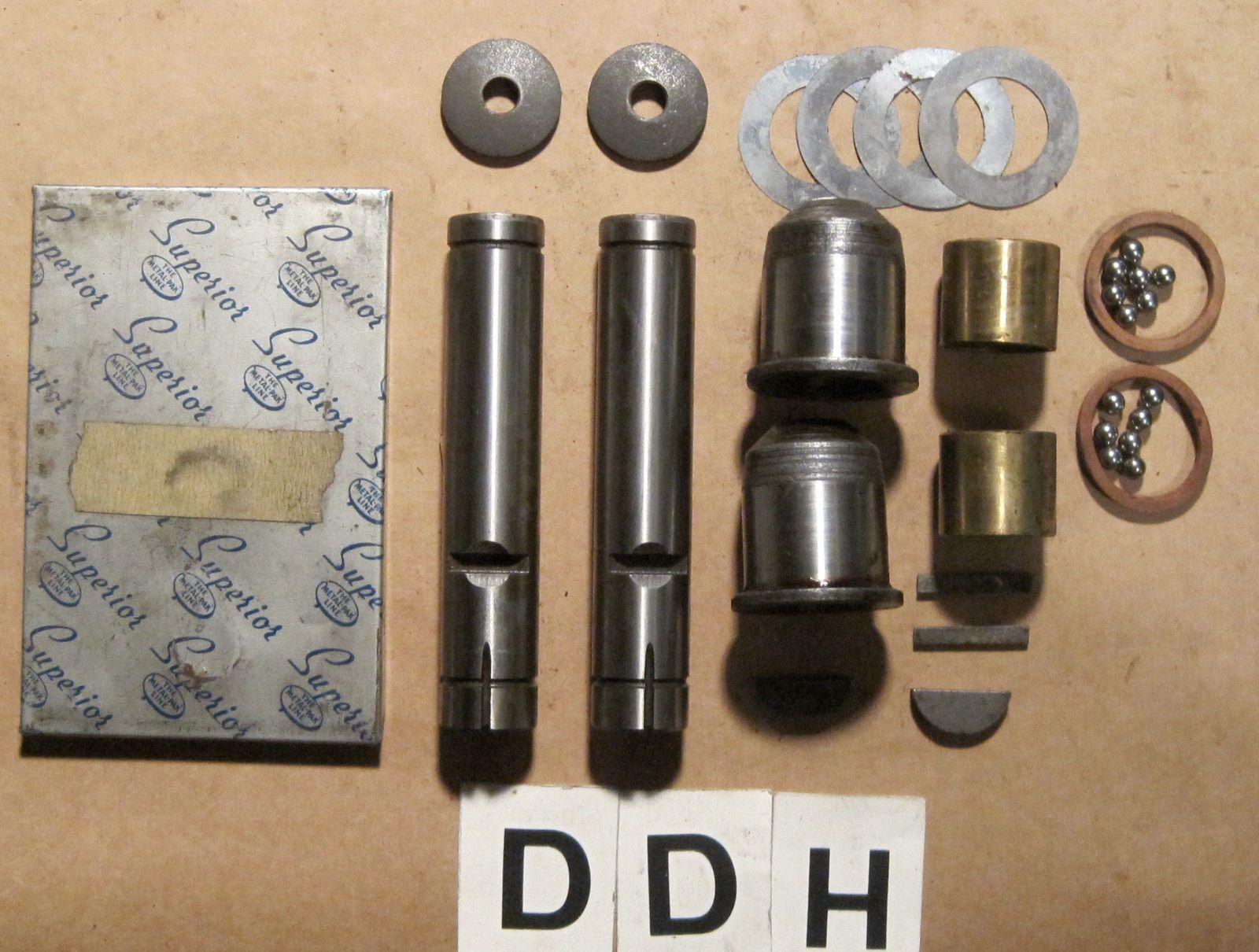 1938 1939 Hudson King Pin Set ~ Hudson Part # 153661 ~ Superior Part # HT-129