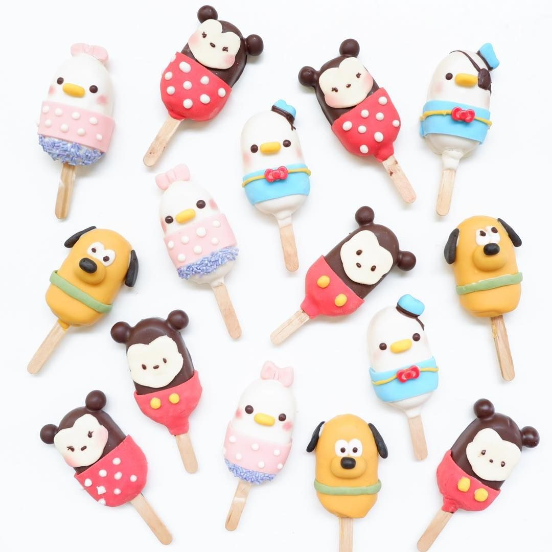 Disney Cake Popsicles By Cook Food Bakery Bento Mintfoodstyle Fun Desserts Cute Desserts Disney Cakes