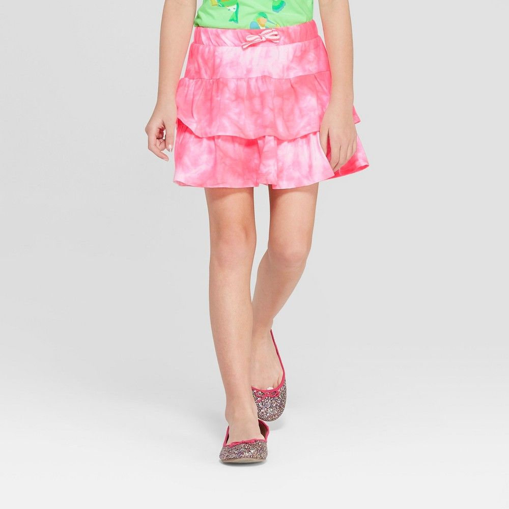 da4f221a749 Girls  Knit Scooter Skirt - Cat   Jack Pink XL in 2019