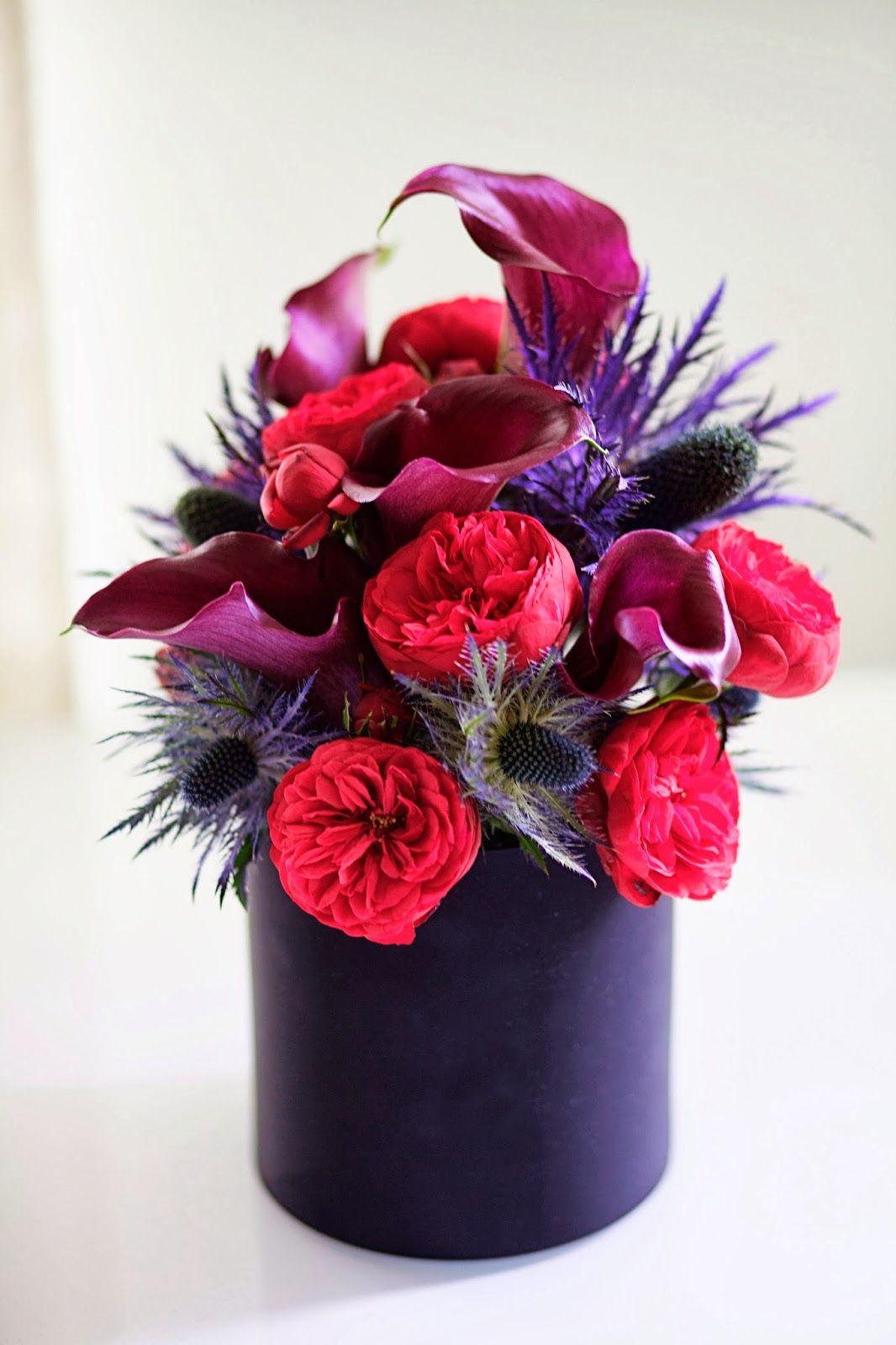Late afternoon flower friday dream home pinterest black calla flower arrangements izmirmasajfo Choice Image