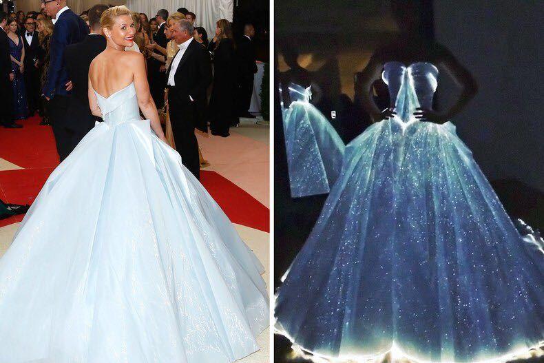 Fiber optic dress : pics