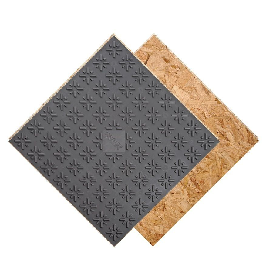 BARRICADE Barricade Air Plus Subfloor Panel With Air Gap