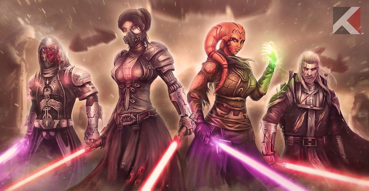 Some Fan Art For The Games Swtor C Star Wars The Old Republic Lucasfilms Entert Star Wars The Old The Old Republic Star Wars Concept Art
