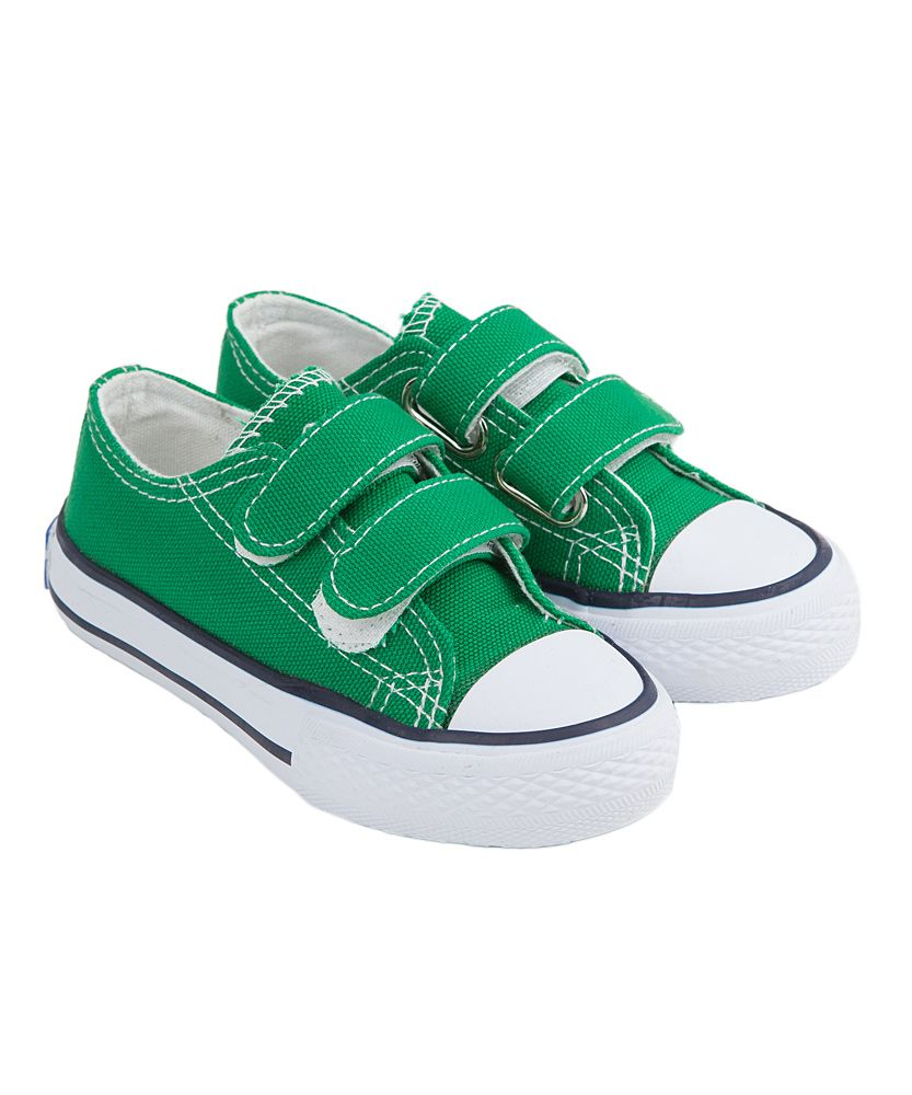 Green Double-Strap Sneaker | Daily deals for moms, babies and kids