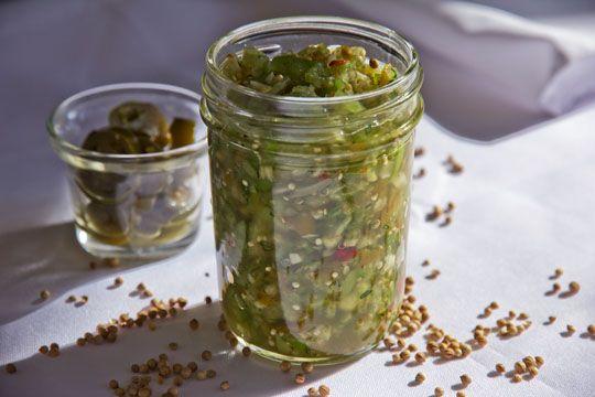 Green Chile Tomatillo Salsa Recipe
