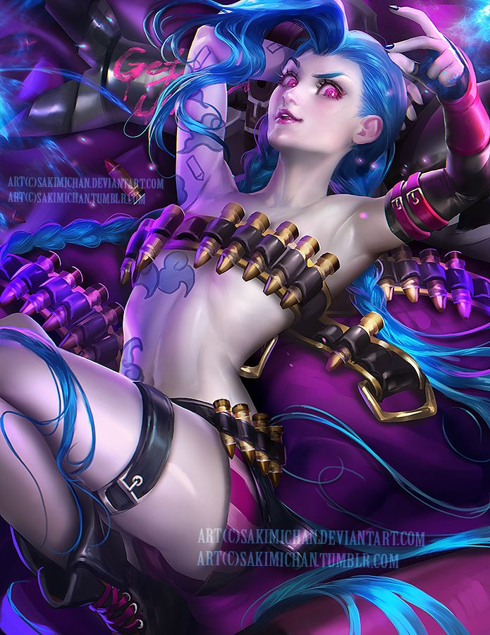 League of sexy girls nsfw