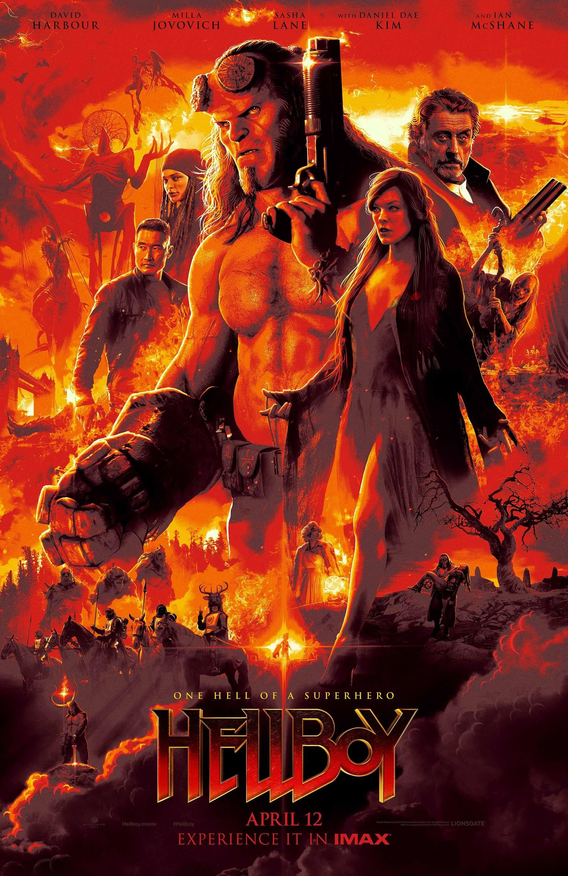 Image result for hellboy 2019 poster