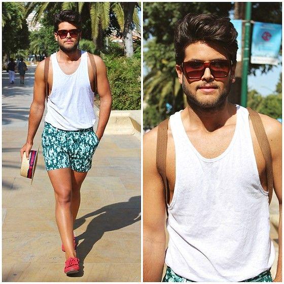 Alberto Bennett - H&M Shirt, H&M Shorts Man - Shorts man   tank ...