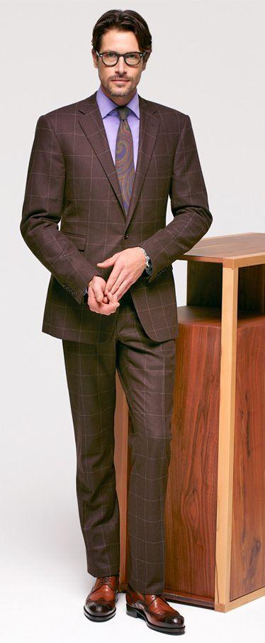 1000  images about Men's Purple Fashion Style on Pinterest | Suits
