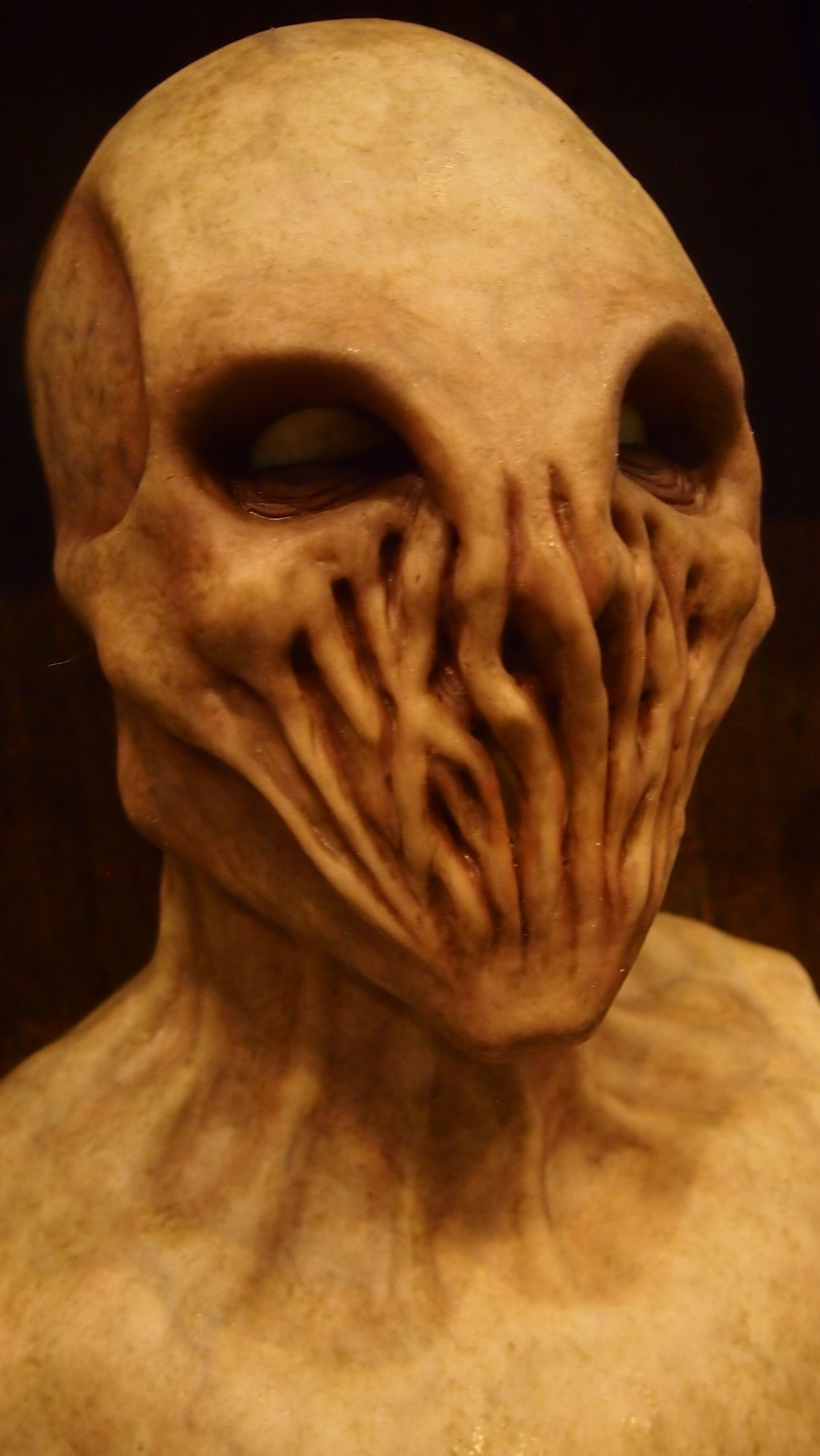 An Alien silicone mask from Shattered FX at the St. Louis ...
