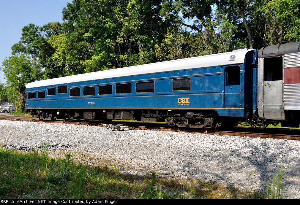 CSX 994318 Georgia Description: Photo Date: 4/28/2014  Location: Baldwin, FL Author: Adam Finger Categories: RollingStock,Passenger