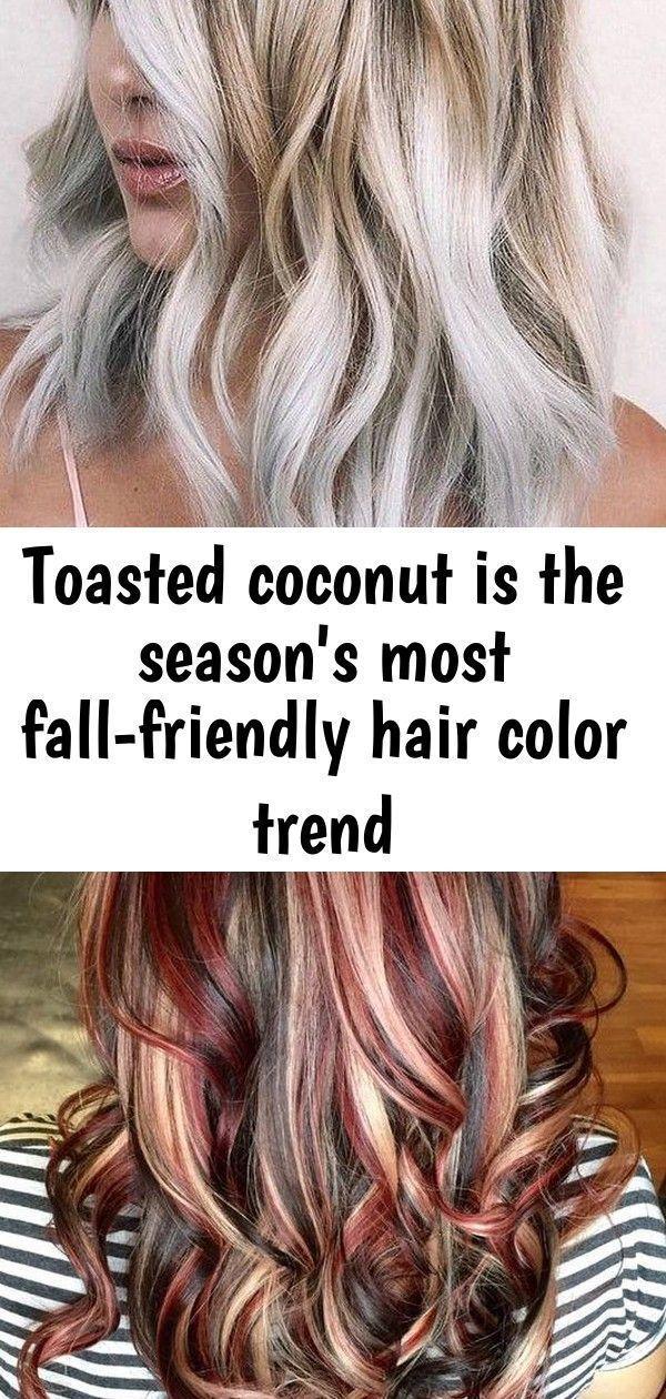 Cocco tostato per la stagione autunno-friendly colore dei capelli di tendenza  C…