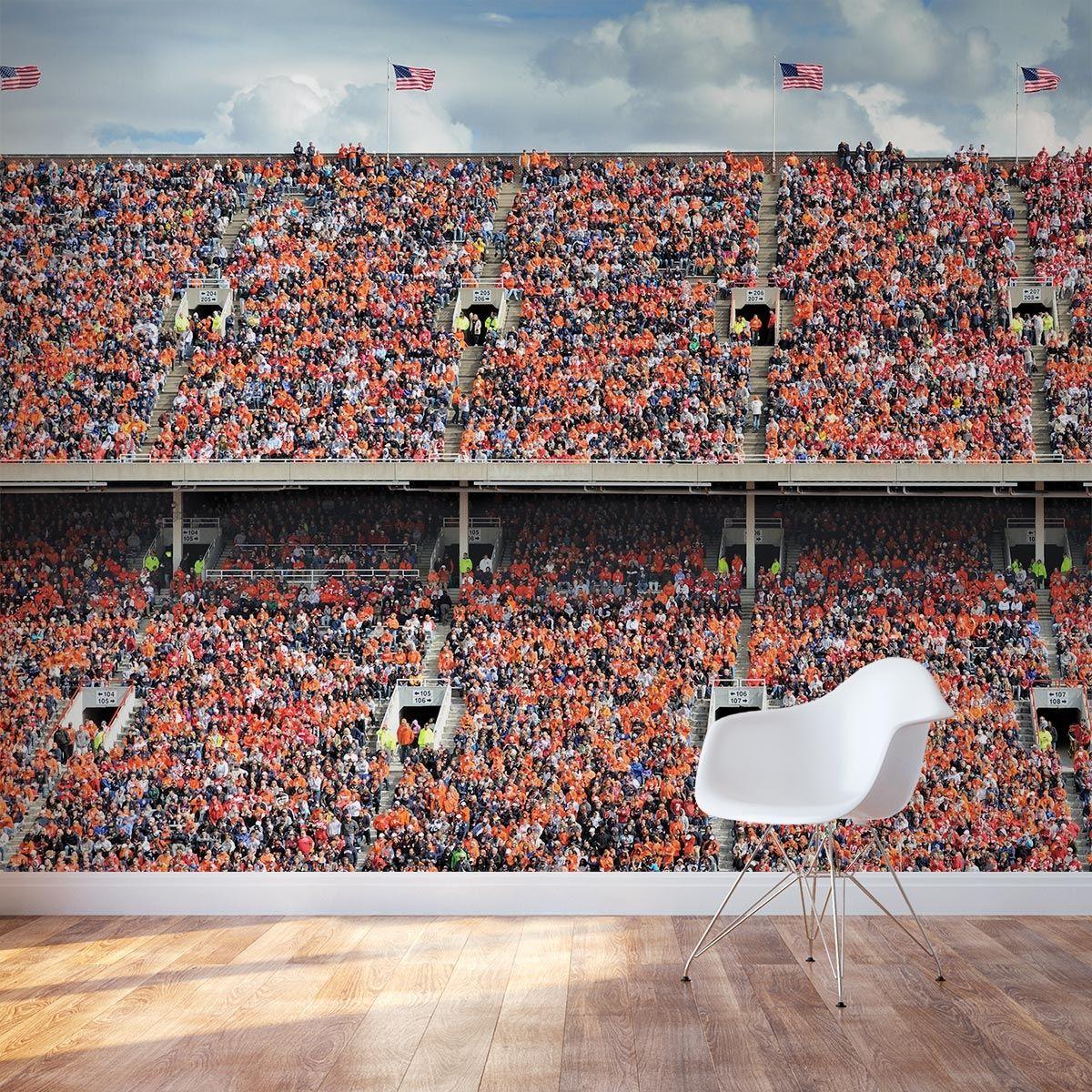 Sports Crowd Wall Mural Wall Murals Wallpaper Bedroom Mural