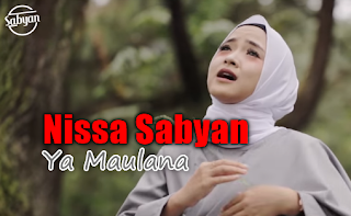 download lagu nissa sabyan ya maulana planet lagu