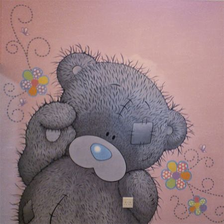 how to paint tatty teddy mural. how to paint tatty teddy mural   Teddy s   Pinterest   Tatty teddy