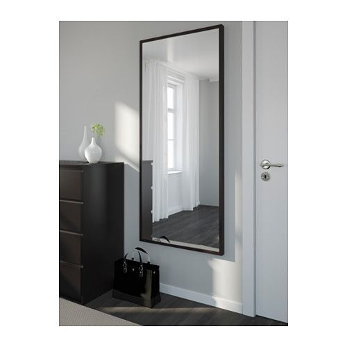 Stave Mirror Ikea Can Be Hung Horizontally Or Vertically Safety