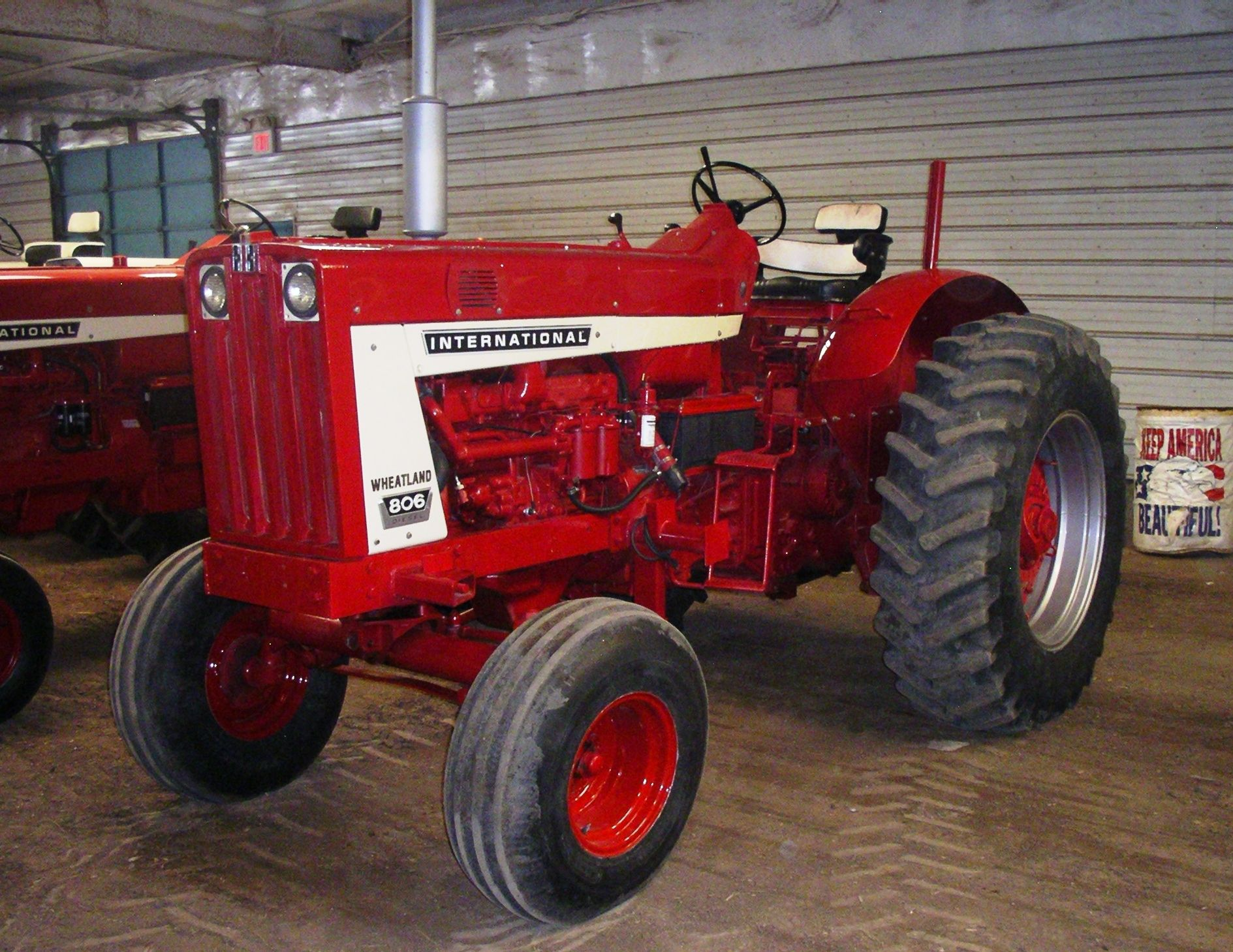 1964 ih 806 wheatland tractors international harvester