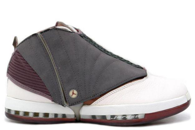 Air Jordan 16 (XVI) Original (OG) + Q M - Whisper White /