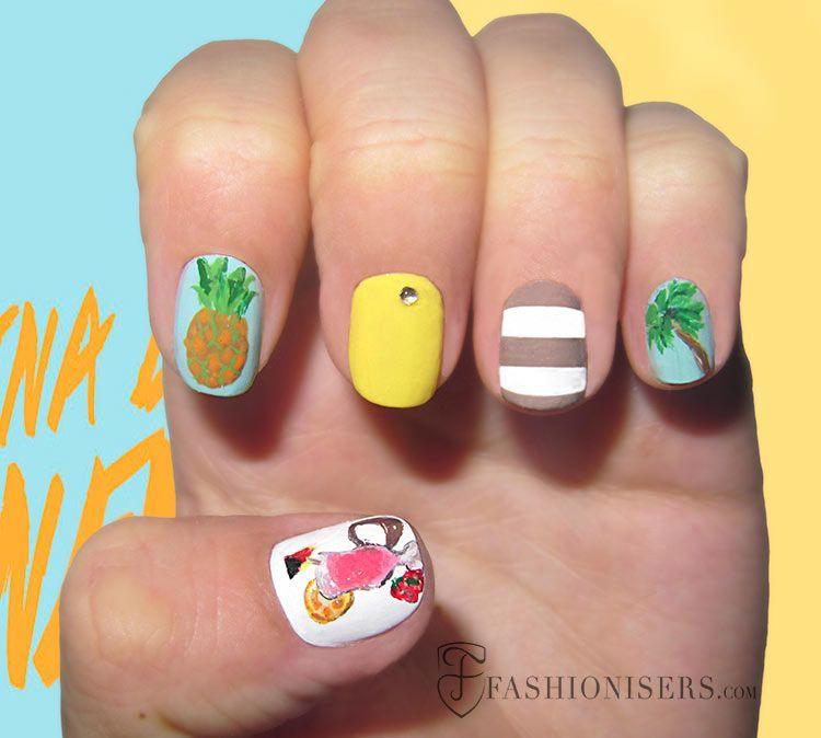 20 Fun Summer Nail Art Designs - 20 Fun Summer Nail Art Designs Summer Nail Art