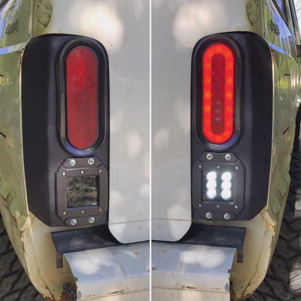 Sleek Looking Led Tail Light Box That S Goes With The Curves Of