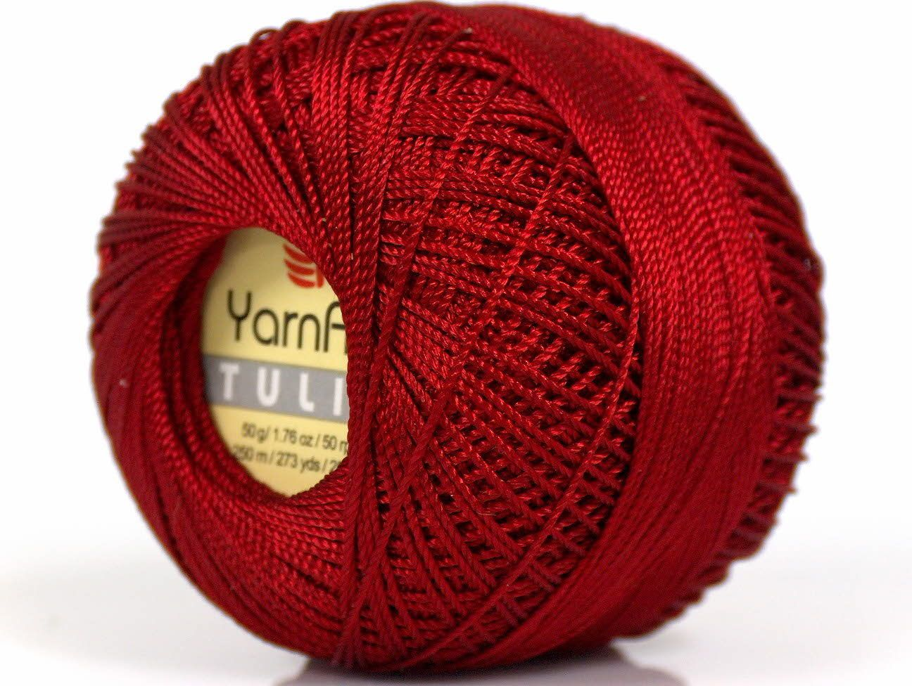 100/% MicroFiber Hand Knitting Yarn Blue Lot of 6 Skeins YarnArt TULIP