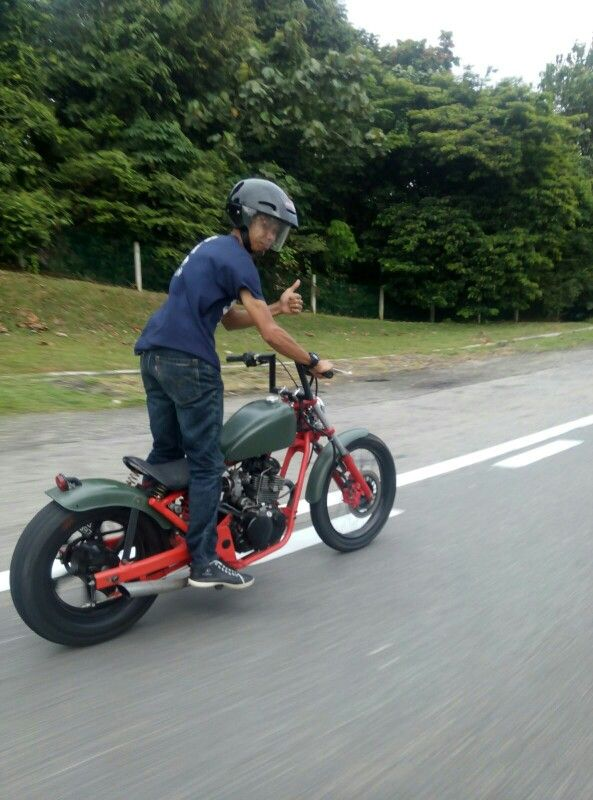 dbbce72d9b0 Malaysian Jaguh from Klang with love 😁 Custom Bikes, Vehicles, Motorcycle,  Rolling Stock