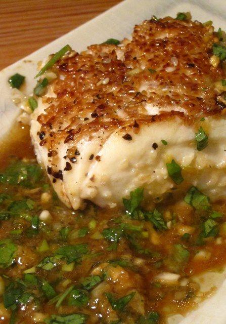 Sesame Crusted Cod