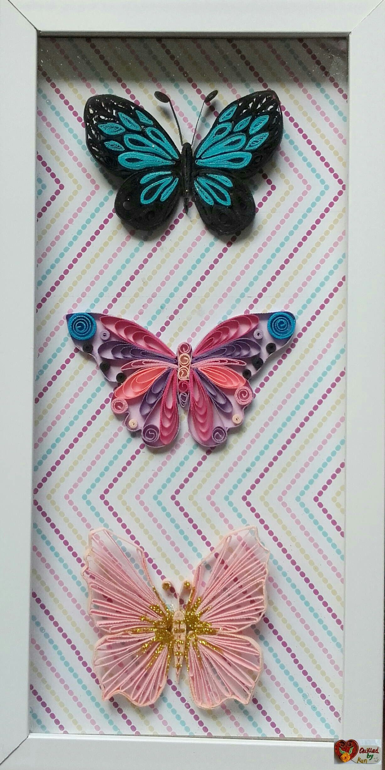 Quilling Paper Crafts Image collections - Craft Decoration Ideas for Quilling Butterfly Tutorial  lp5fsj