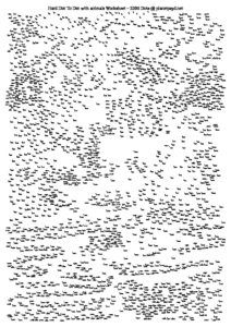 Rare image in free printable extreme dot to dot pdf