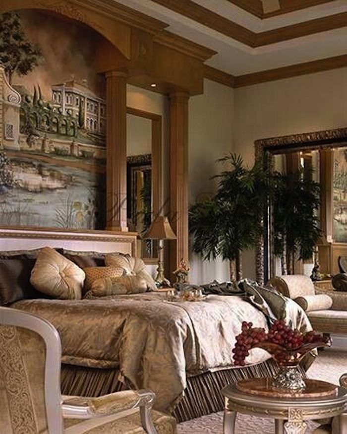Inviting Old World Style Bedrooms Old World Bedroom Bedroom