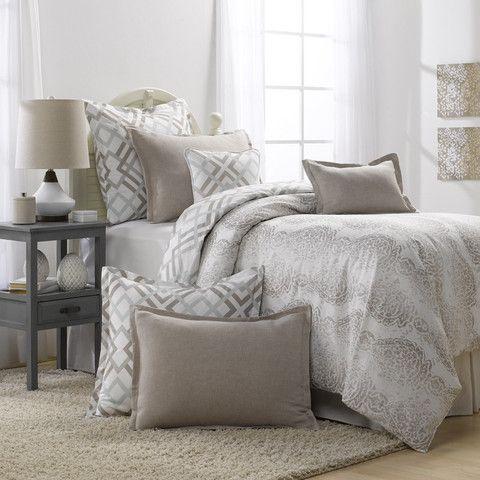 Grey And Taupe Bedding Set Duvet Dorm Room Bedding Dorm Bedding Sets Taupe Bedding