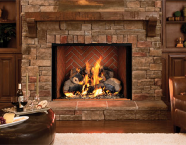 Natural gas fireplace and Gas fireplace