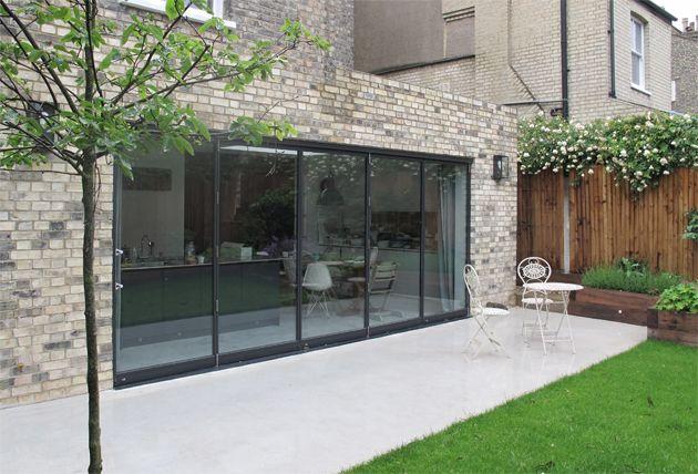 Fineline Aluminium System 48 Folding Sliding Doors | Home architecture | Pinterest | Sliding door Doors and Verandas & Fineline Aluminium System 48 Folding Sliding Doors | Home ... pezcame.com