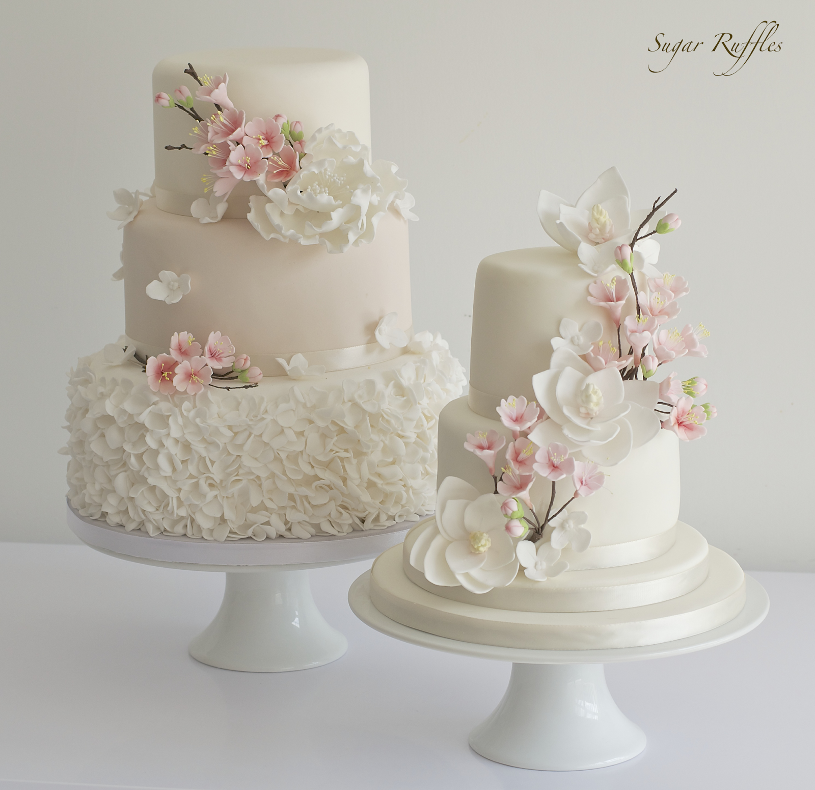 This is just a selection of our wedding cake designs. Please browse ...
