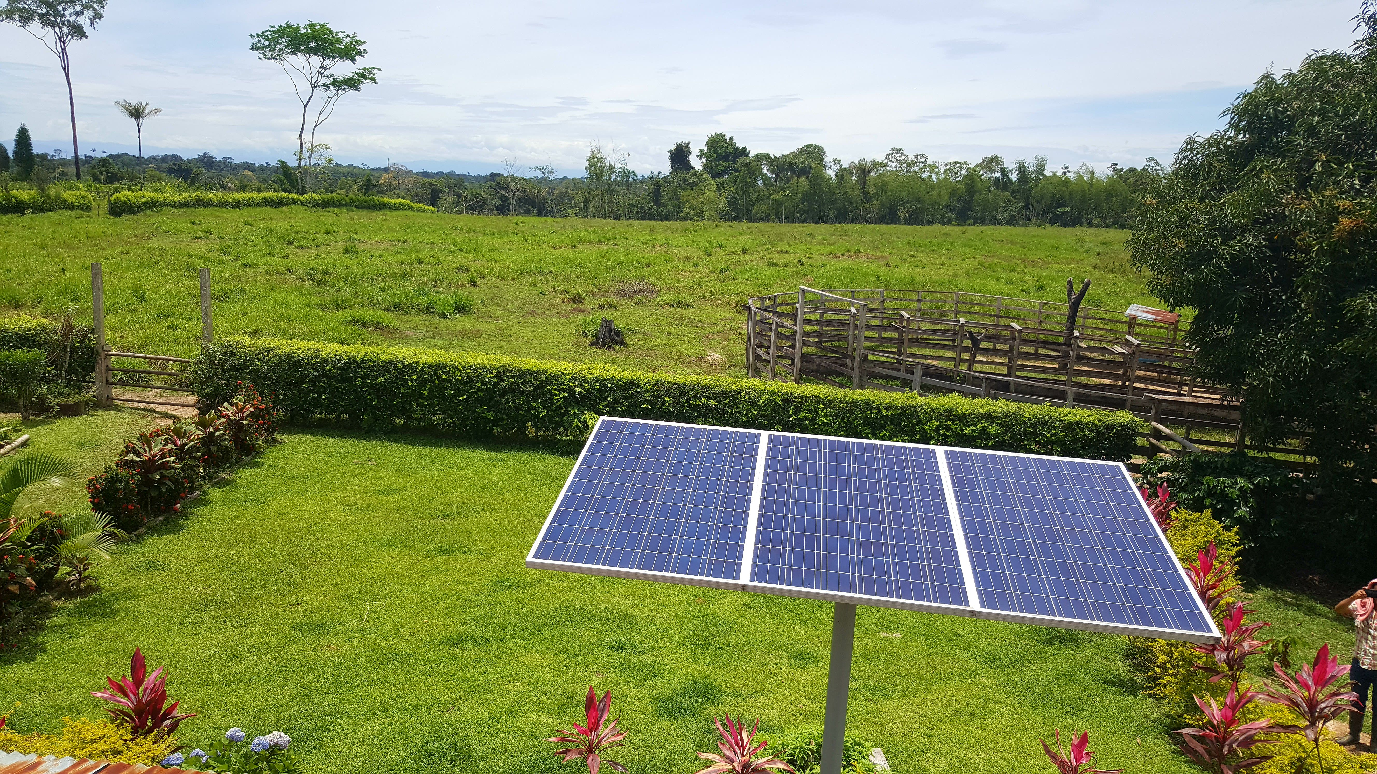 Venta de paneles solares en - Paneles solares para abastecer una casa ...