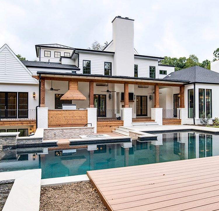 Pin by Jess on Home (Part II) Dream house exterior