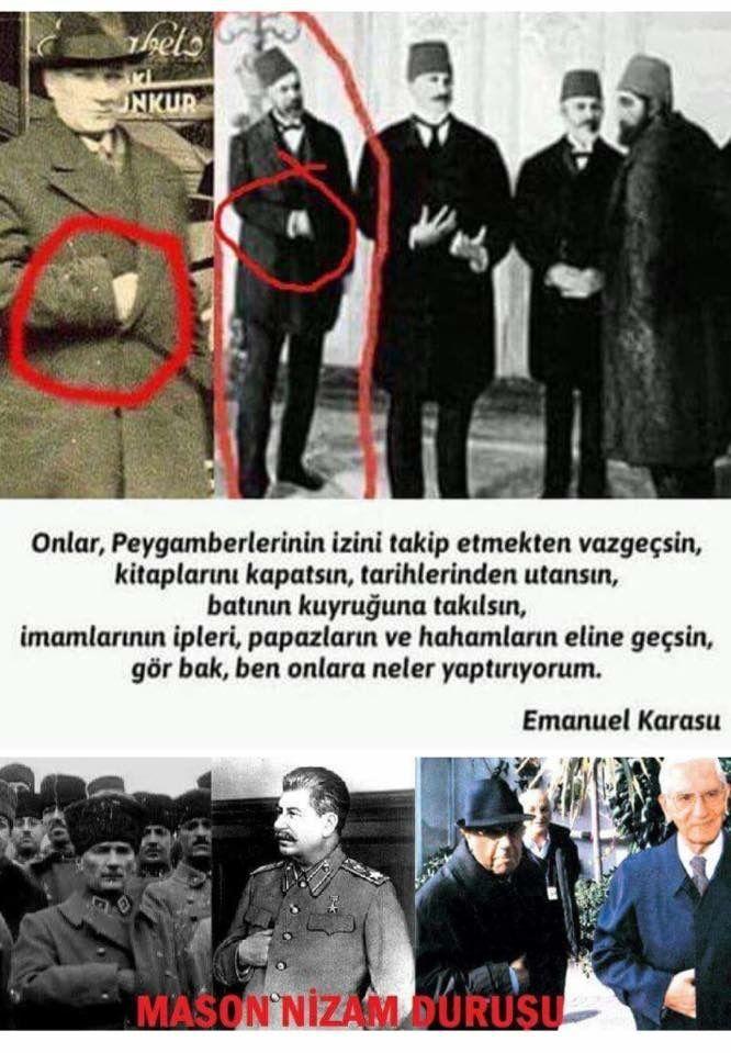 Atatürk Mason Nizam Duruşu Sabatayist Kemalist Tarih