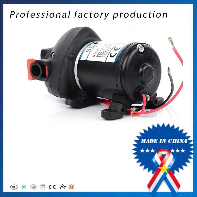 12v 24v dc high pressure mini electric water pump automatic dc high pressure mini electric water pump automatic diaphragm pump car yachts use price ccuart Image collections
