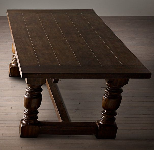 1930s French Farmhouse Extension Rectangular Dining Table