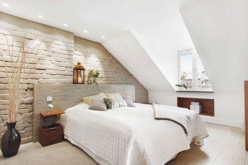 24 Schon Deko Ideen Schlafzimmer Mit Dachschrage Deko Pinterest