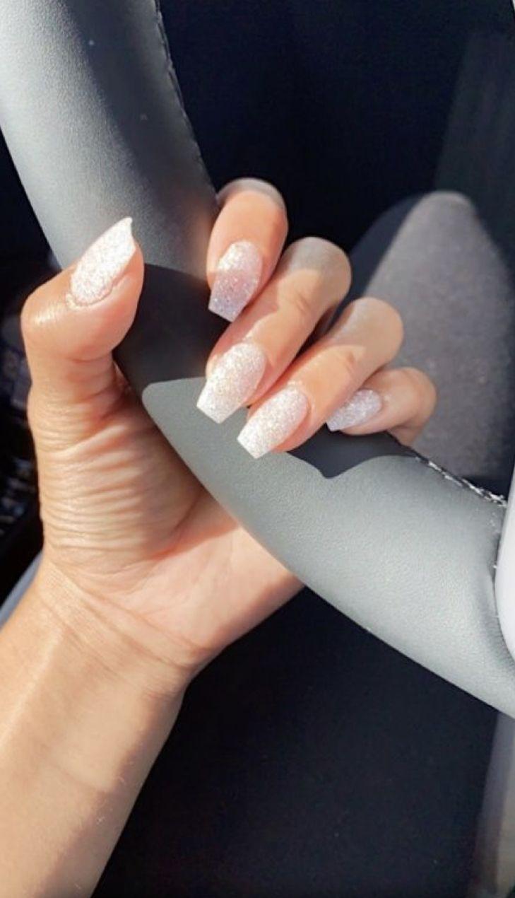 Cute Nail Ideas In 2020 Classy Acrylic Nails Simple Acrylic Nails Dream Nails