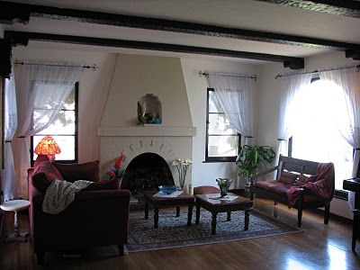 Spanish Bungalow Livingroom Spanish Style Pinterest Spanish Bungalow Bungalow And