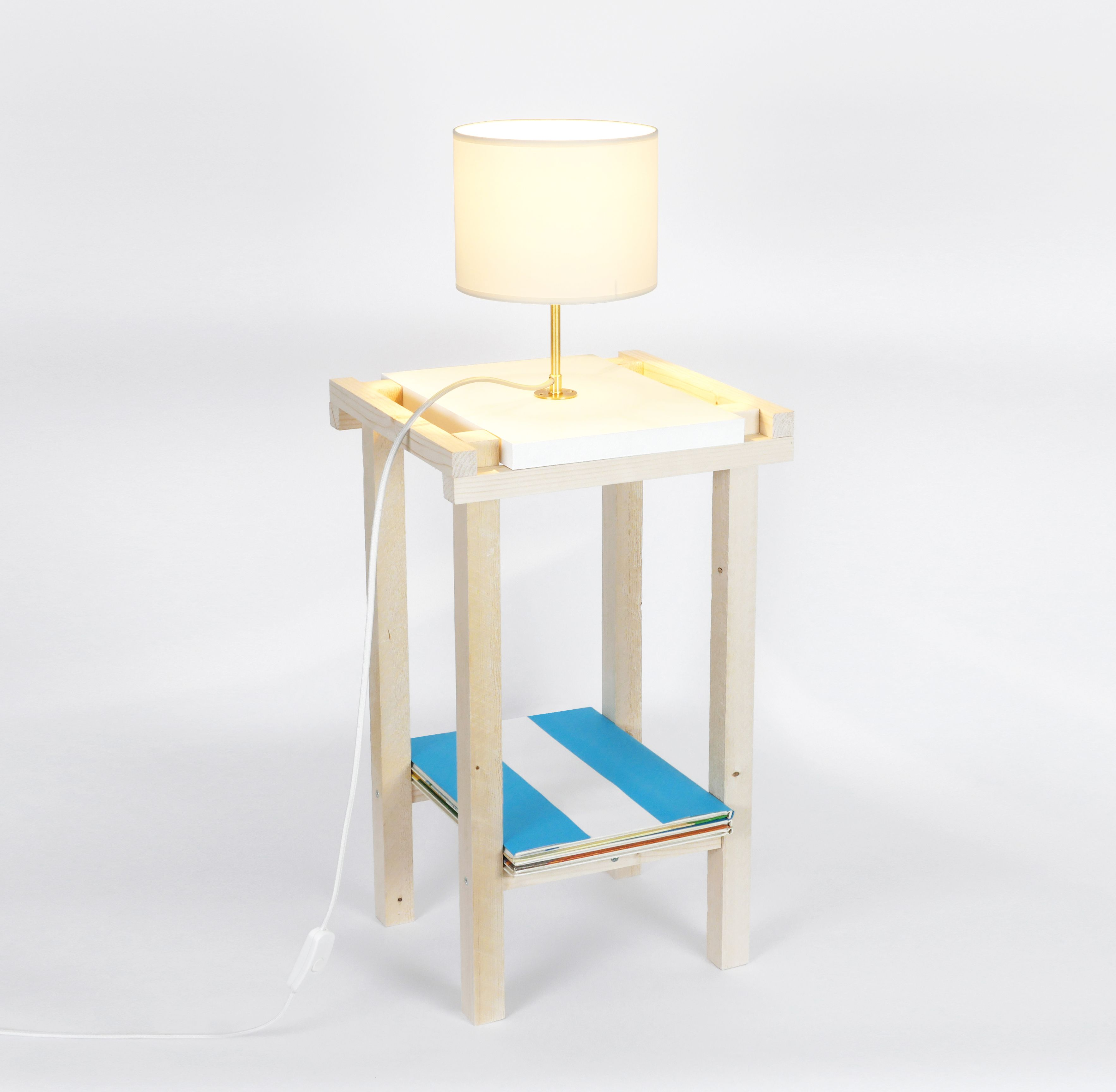 MAKE Lota Pierre IT par en réalisée Table chevet – de IYe9WEHD2