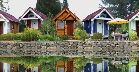 Are Tiny House Villages The Apartment Complexes Of The Future Tiny House Village Tiny House Community Small House Communities