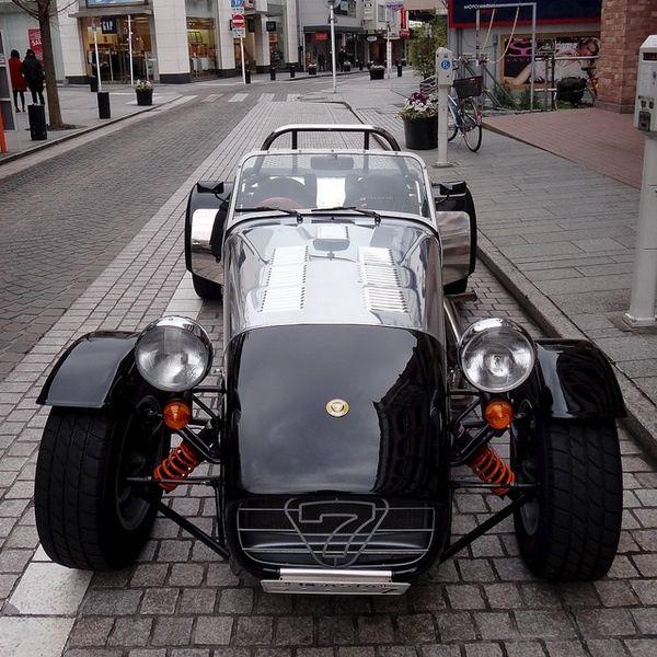 Cars, Lotus 7 And Lotus