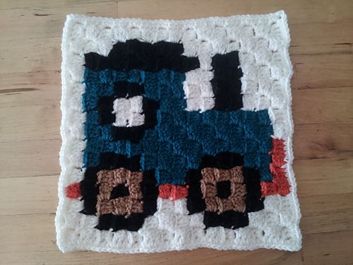 Ravelry: Train C2C Block pattern by Sanofer Abdullah | Projects to ...