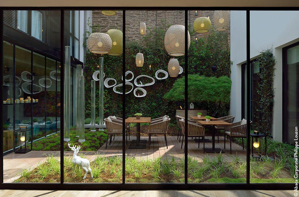 Pin by Cathie Herrmann on Jardin et extérieur Pinterest - modernes design spa hotel