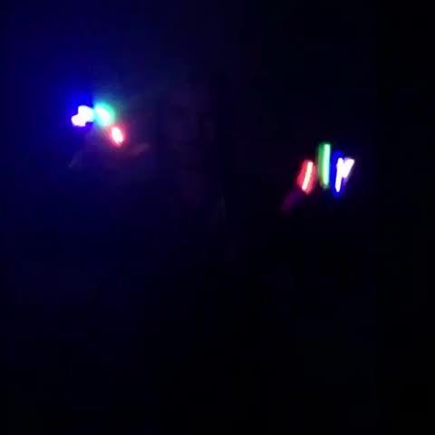 Rad finger lights!